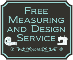 Free Measuring & Design on Curtains & Blinds